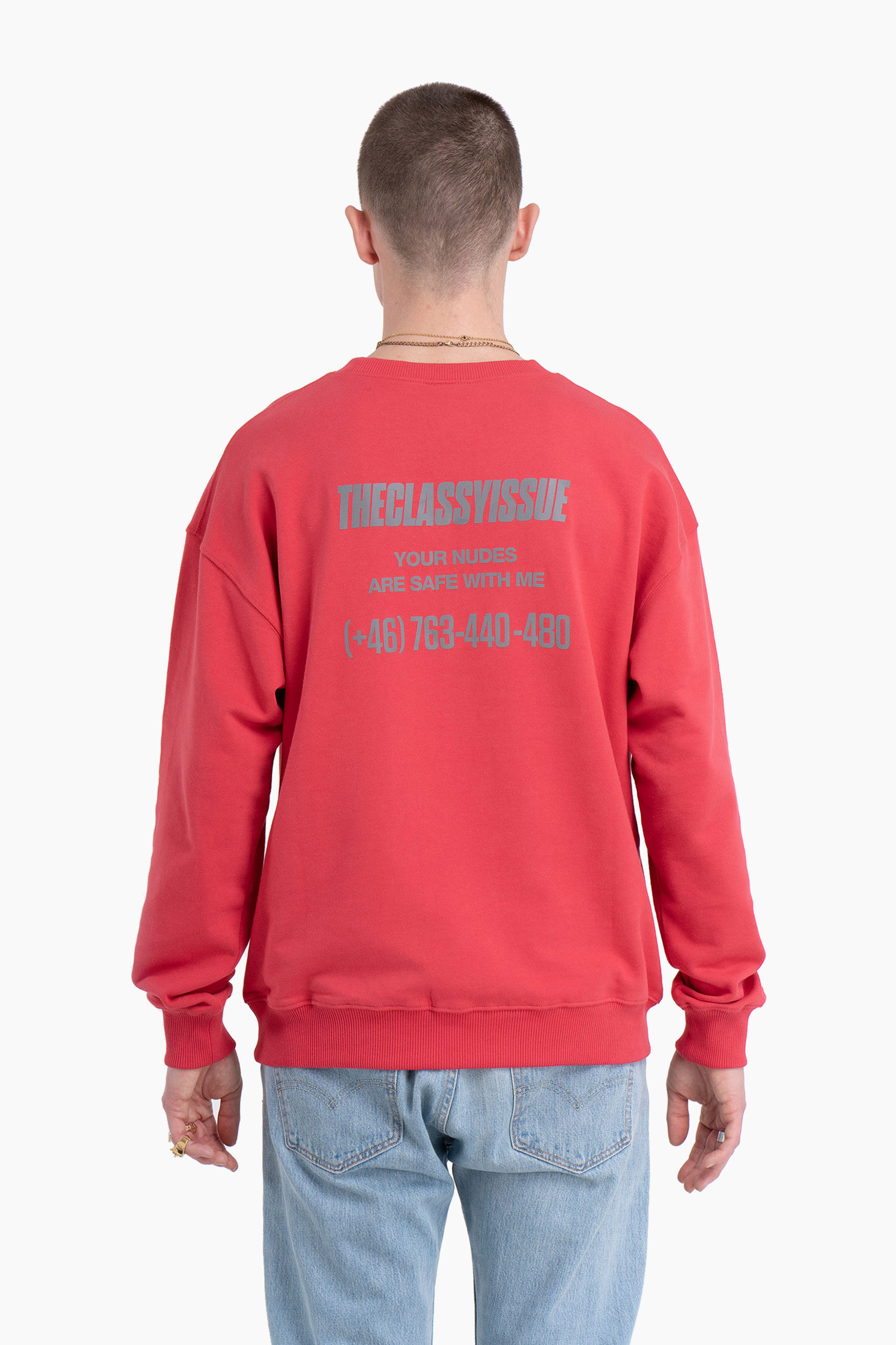 e9f338651c Nudes Sweater Red – The Classy Shop